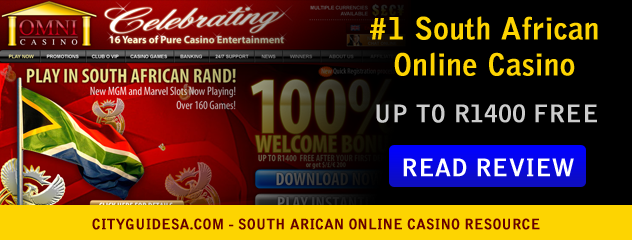Legal Online Casinos South Africa